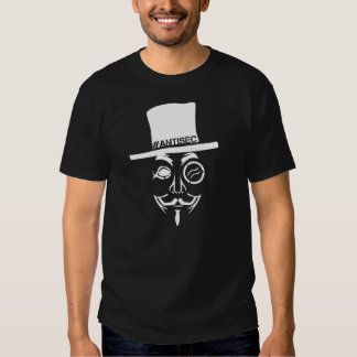 AntiSec AntiSecurity Hacker Logo Tshirt