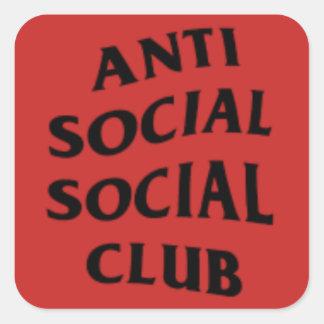 ANTISOCIAL CLUB STICKER