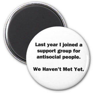Antisocial Group 2 Inch Round Magnet