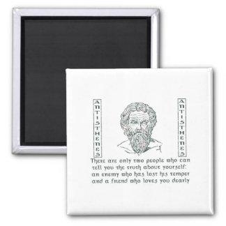 Antisthenes Square Magnet