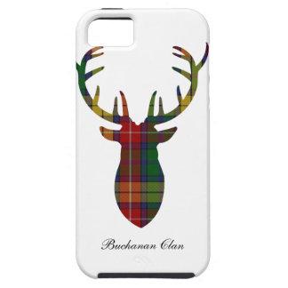 """Antlers""  Buchanan Clan Family Tartan iPhone 5 Cover"