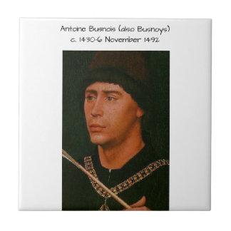 Antoine Busnois also Busnoys Tile