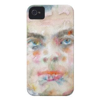 antoine de saint exupery - watercolor portrait Case-Mate iPhone 4 case