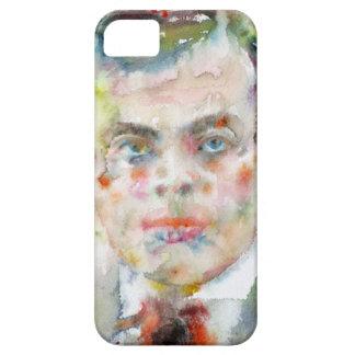 antoine de saint exupery - watercolor portrait iPhone 5 cover
