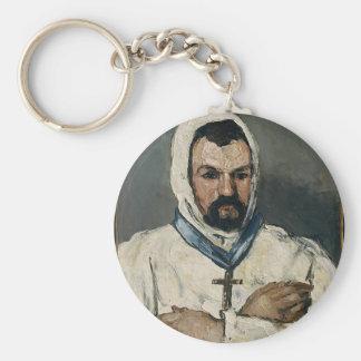 Antoine Dominique Sauveur Aubert Basic Round Button Keychain