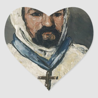 Antoine Dominique Sauveur Aubert Heart Sticker