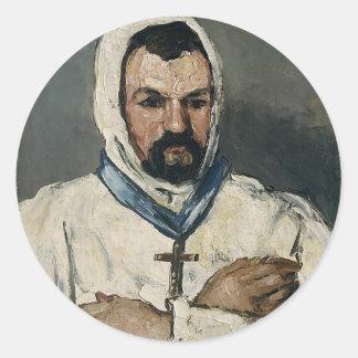Antoine Dominique Sauveur Aubert Round Sticker