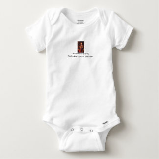 Antoine Forqueray Baby Onesie