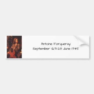 Antoine Forqueray Bumper Sticker