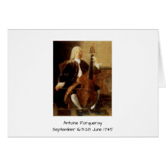 Antoine Forqueray Card