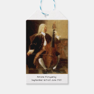 Antoine Forqueray Gift Tags