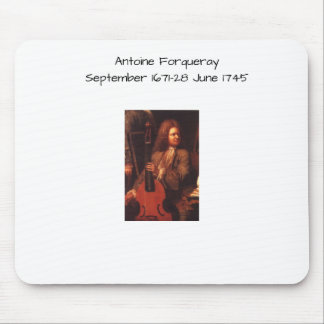 Antoine Forqueray Mouse Pad