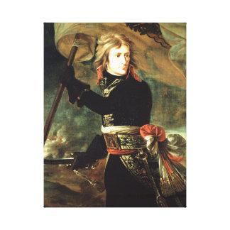Antoine-Jean Gros Bonaparte at the pont d'Arcole Canvas Print