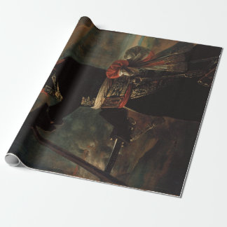 Antoine-Jean Gros Bonaparte at the pont d'Arcole Wrapping Paper
