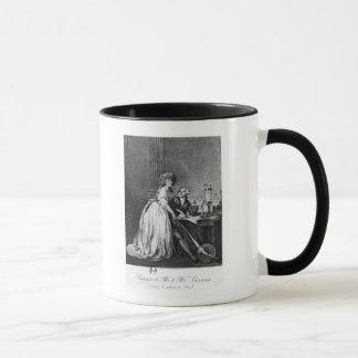 Antoine Laurent Lavoisier  and his wife Mug