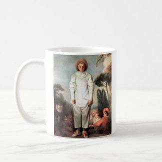 ANTOINE WATTEAU - Pierrot (Gilles) 1718 Coffee Mug