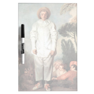 ANTOINE WATTEAU - Pierrot (Gilles) 1718 Dry Erase Board