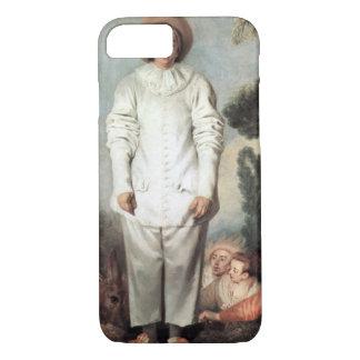 ANTOINE WATTEAU - Pierrot (Gilles) 1718 iPhone 8/7 Case