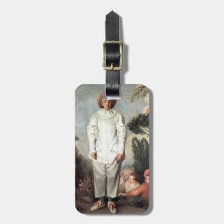 ANTOINE WATTEAU - Pierrot (Gilles) 1718 Luggage Tag