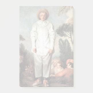 ANTOINE WATTEAU - Pierrot (Gilles) 1718 Post-it Notes