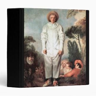ANTOINE WATTEAU - Pierrot (Gilles) 1718 Vinyl Binders