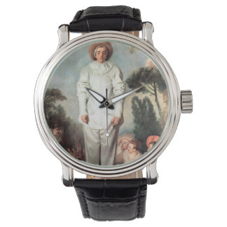 ANTOINE WATTEAU - Pierrot (Gilles) 1718 Watch