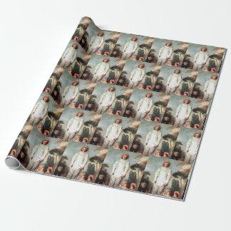 ANTOINE WATTEAU - Pierrot (Gilles) 1718 Wrapping Paper