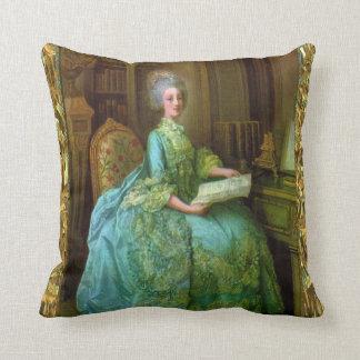 Antoinette Elegance Baroque Throw Pillow