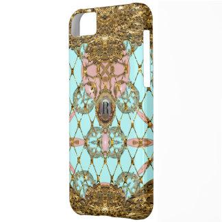 Antoinettie Elegant Monogram iPhone 5C Cases