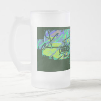 Antomy- glass Mug fosco
