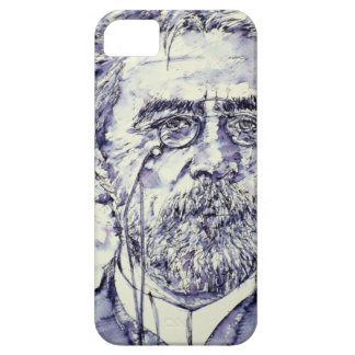 anton chekhov - watercolor portrait.2 case for the iPhone 5