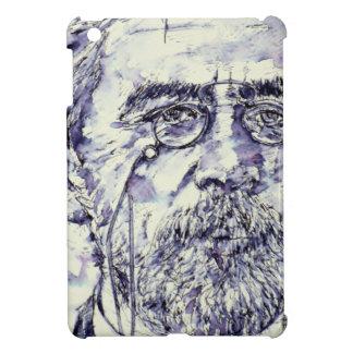 anton chekhov - watercolor portrait.2 iPad mini case