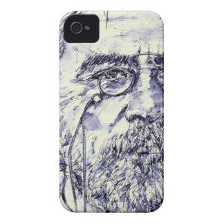 anton chekhov - watercolor portrait.2 iPhone 4 Case-Mate case