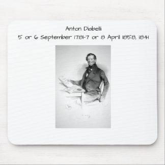 Anton Diabelli Mouse Pad