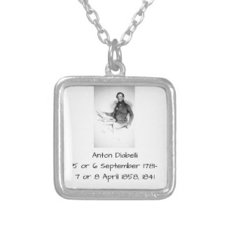 Anton Diabelli Silver Plated Necklace