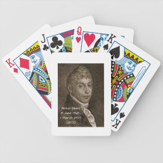 Anton Eberl c1800 Bicycle Playing Cards