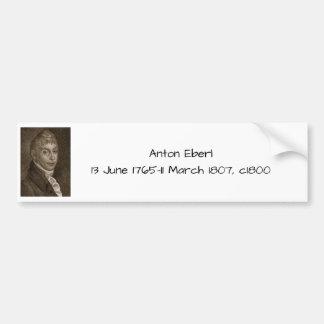 Anton Eberl c1800 Bumper Sticker
