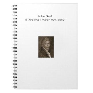 Anton Eberl c1800 Notebook