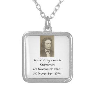 Anton Grigorevich Rubinstein Silver Plated Necklace