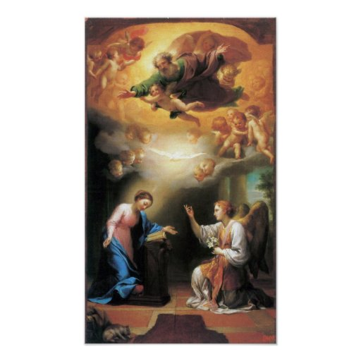 Anton Raphael Mengs - Annunciation Poster