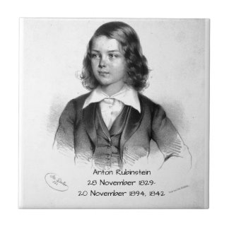 Anton Rubinstein 1842 Tile