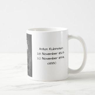 Anton Rubinstein c1880 Coffee Mug