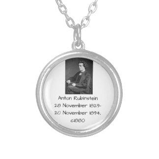 Anton Rubinstein c1880 Silver Plated Necklace