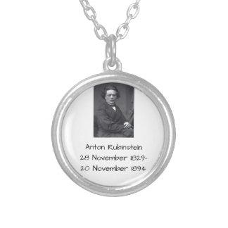 Anton Rubinstein Silver Plated Necklace