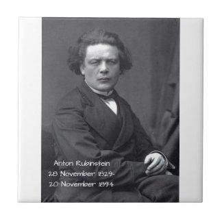 Anton Rubinstein Tile