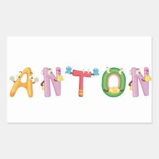 Anton Sticker