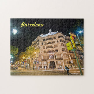 Antoni Gaudi's the Stone quarry in Barcelona, Spai Jigsaw Puzzle