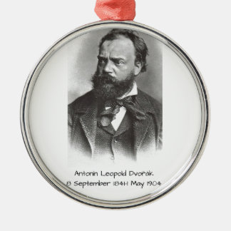 Antonin Dvorak Metal Ornament