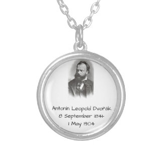 Antonin Dvorak Silver Plated Necklace