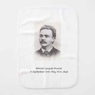 Antonin Leopold Dvorak 1868 Burp Cloth